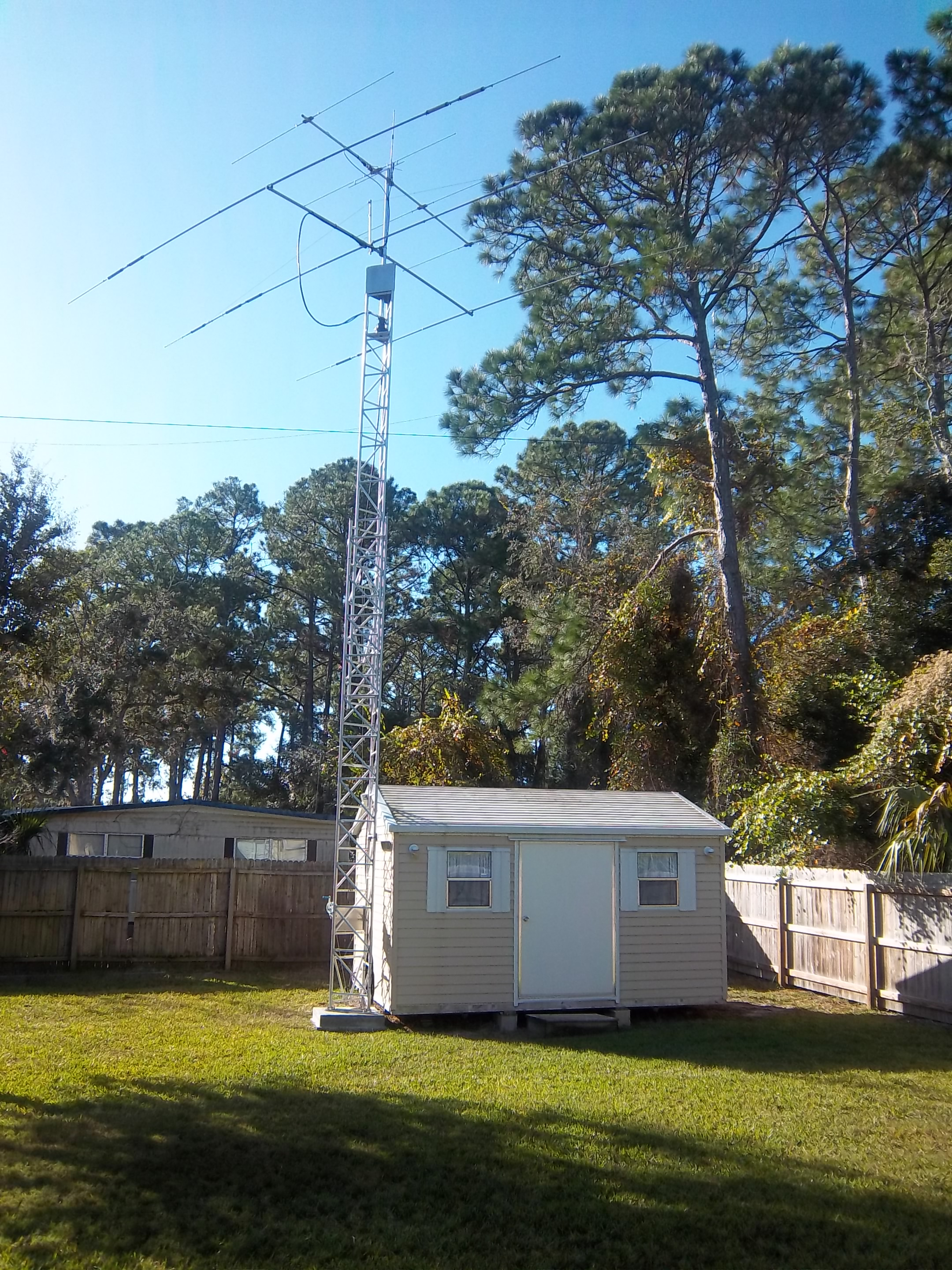 Ham radio antenna towers