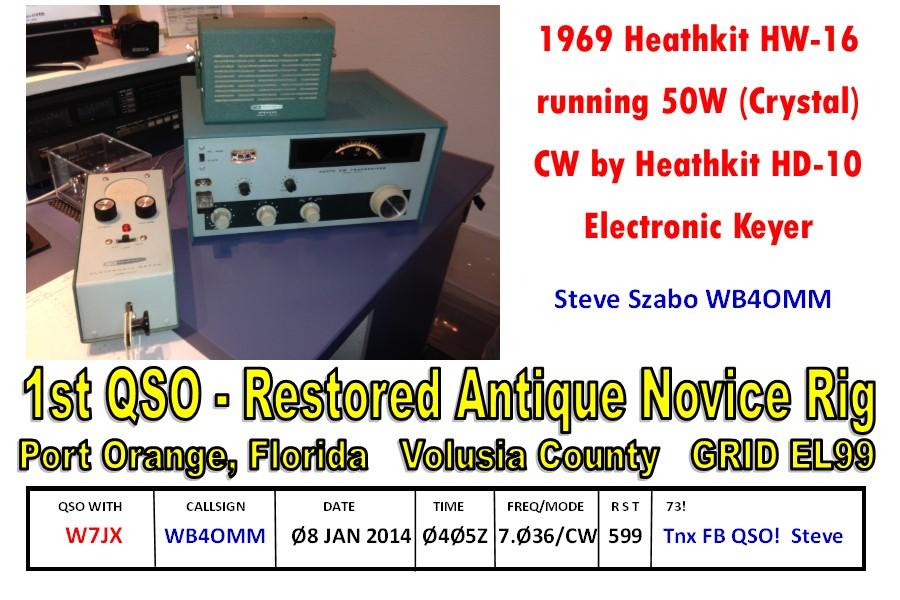 HW-16 QSL FRONT W7JX