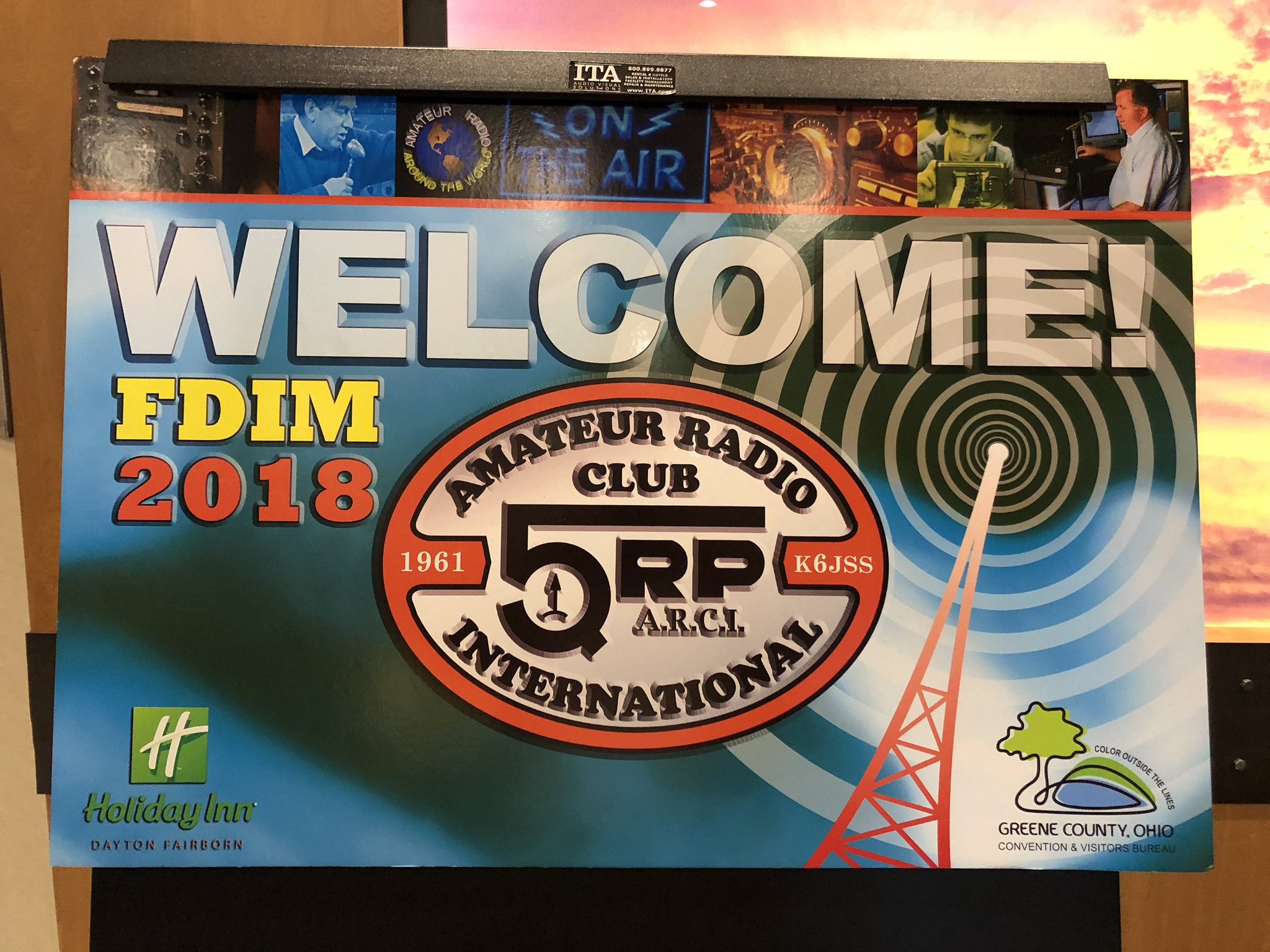 Amateur Radio Station Wb4omm: 2018 Hamvention And FDIM Are Over!